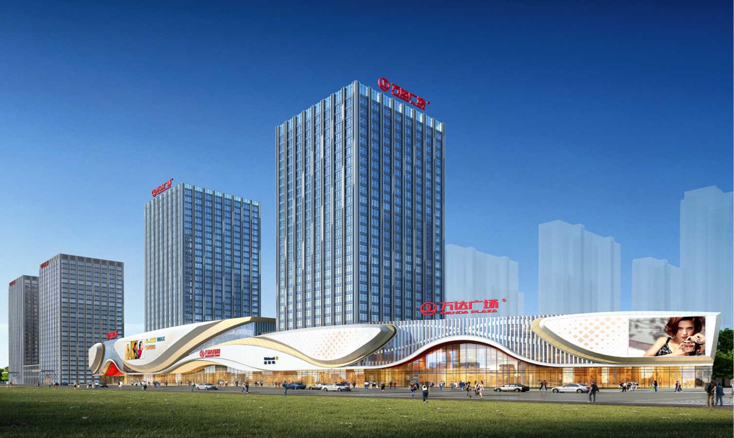 万达广场公司_四川乐山万达广场-北京国科天创建筑设计院